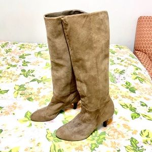 Banana Republic Paisley Leather Boots